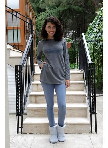 Hays Simply Penye Kadın 2li Uzun Taytlı Pijama Takımı